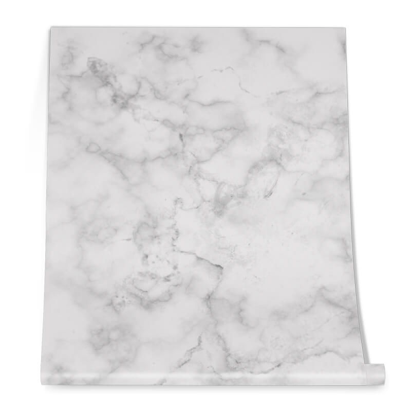 White Marble Finishing Graphic Roll