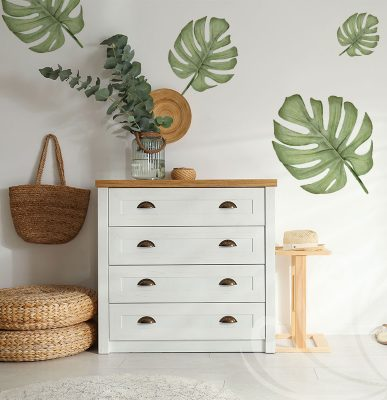 Tropical Leaves Wall Decal