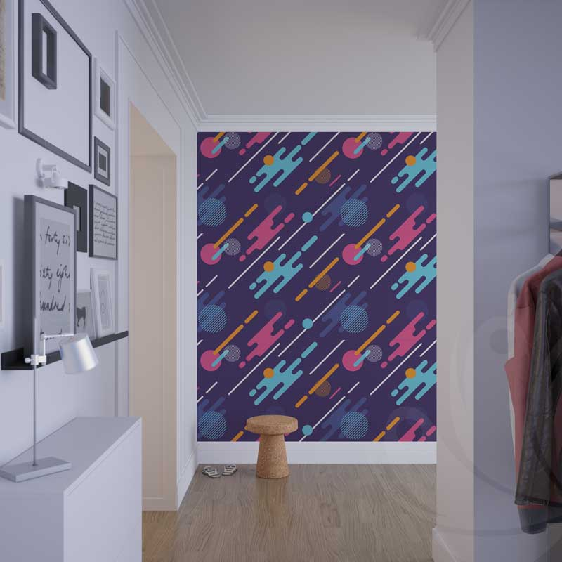 Abstract Dynamic Pattern Graphic