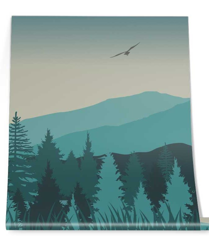 Forest Wall Mural Roll