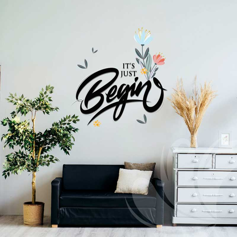 Life Quote Wall Decal