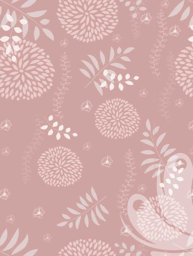 Pink Pastel Floral Pattern