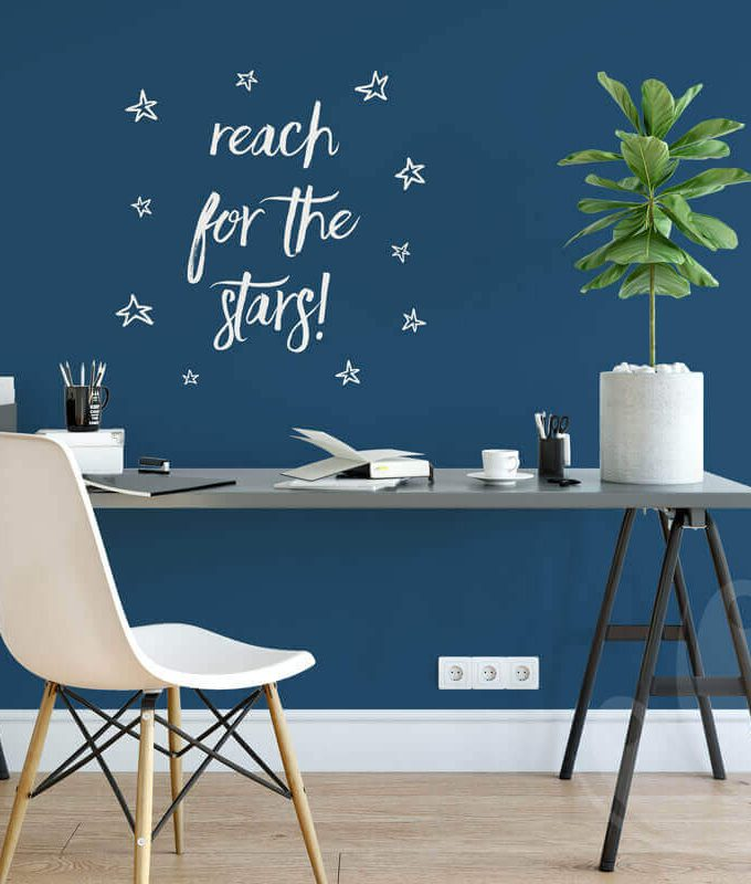 Reach for the stars Motivational Quote