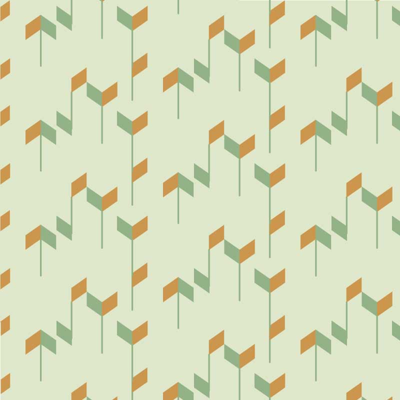 Geometric Trapezoid Pattern