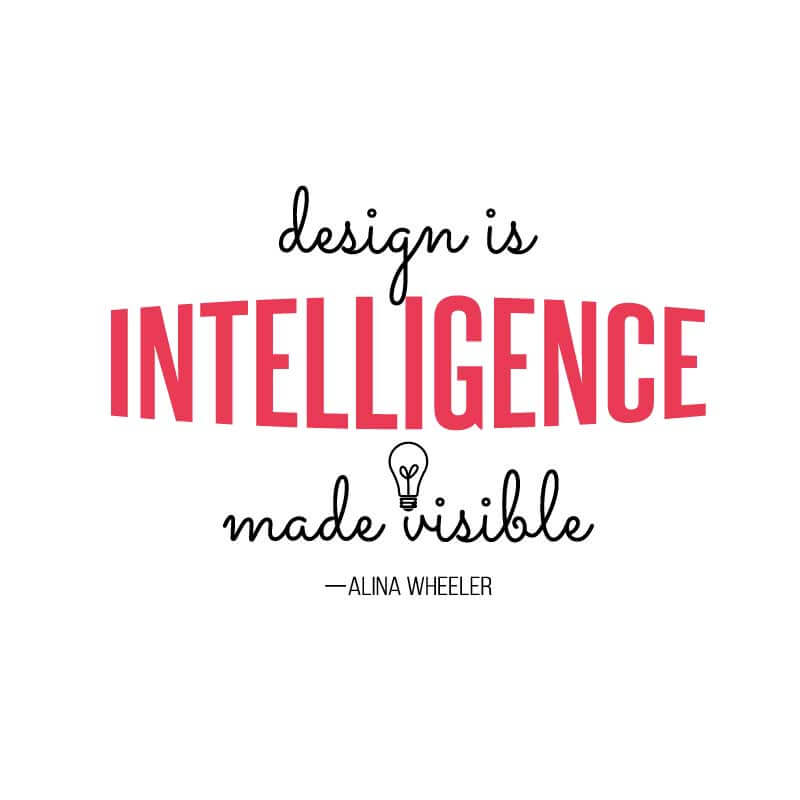 Intelligence Quote Decal