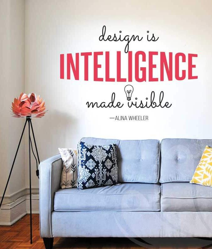 Intelligence Wall Decal