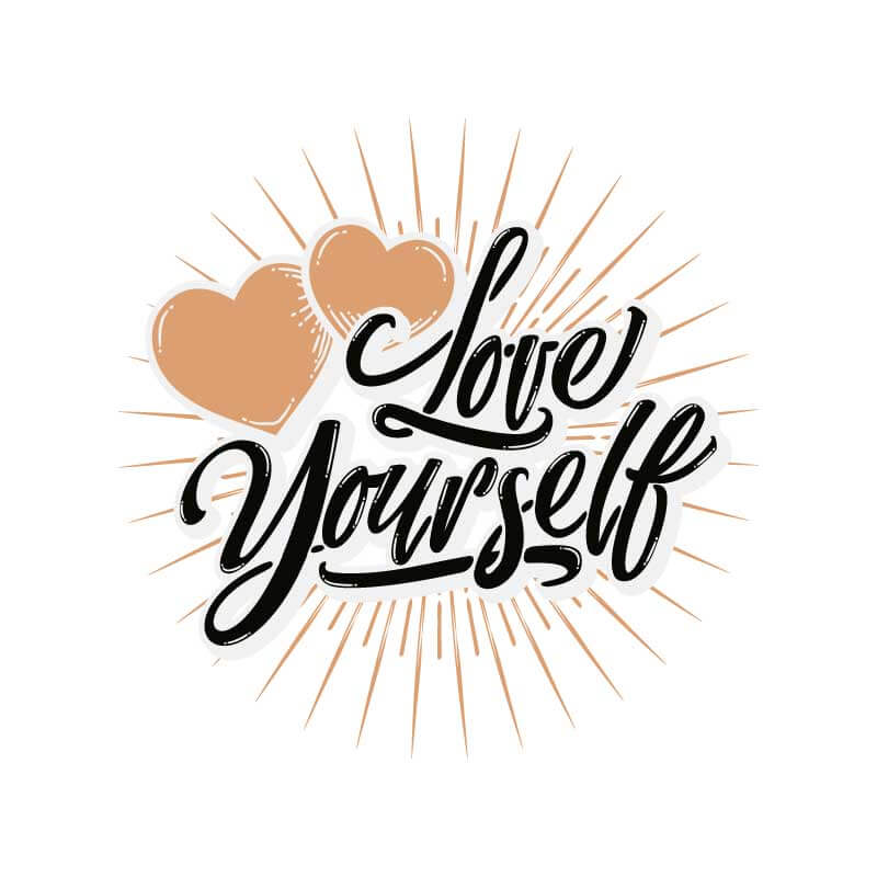 Love Yourself Decal