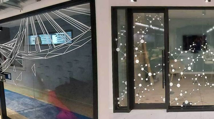 Custom window graphics for your business