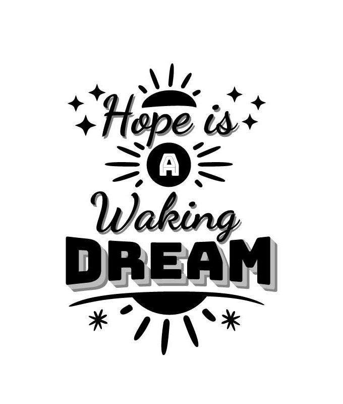 Hope is Walking Dream decal