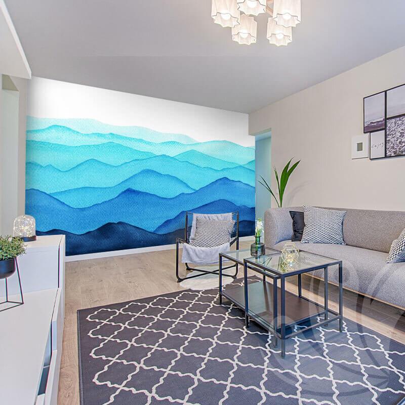 Wavy Abstract Wallpaper