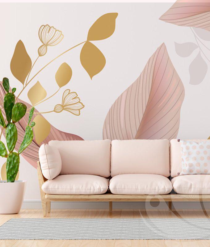 Floral Pastel Wallpaper