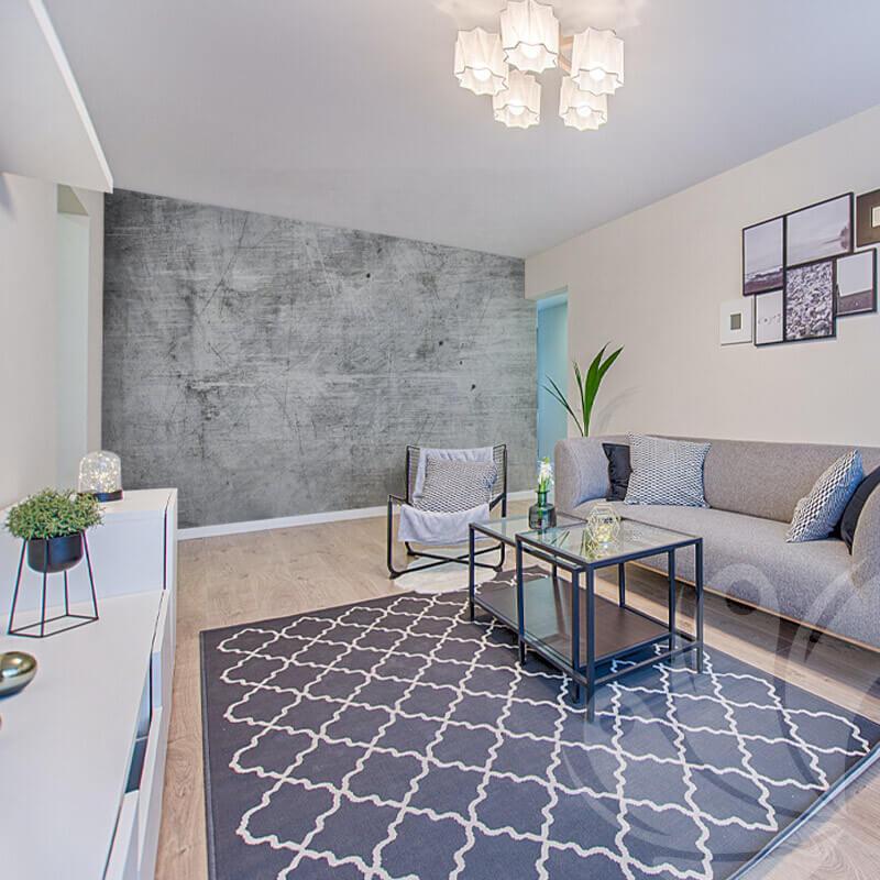 Grey Textured Wallpaper