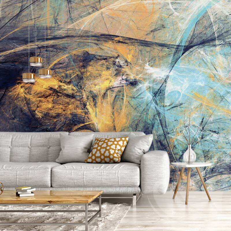 Abstract Painting Texture Wallpaper