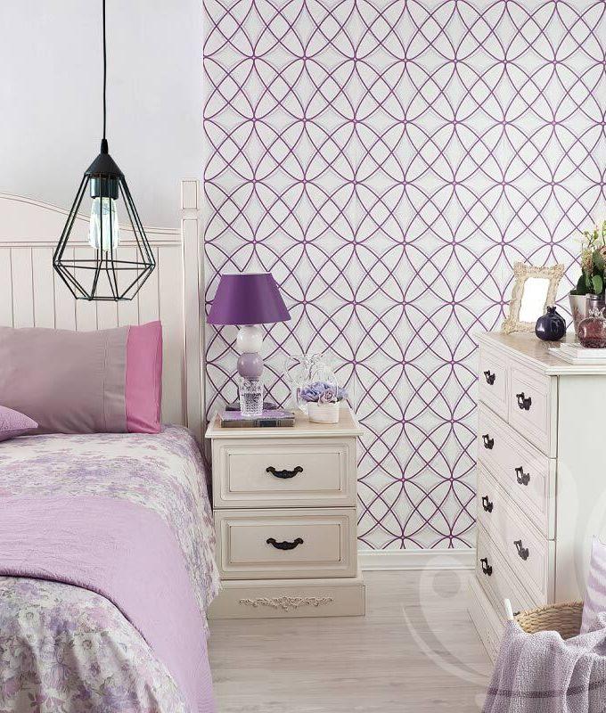Rhombus Modern Wallpaper