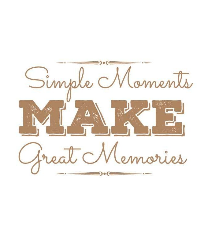 Great Memories Decal