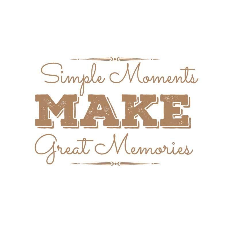 Great Memories Decal