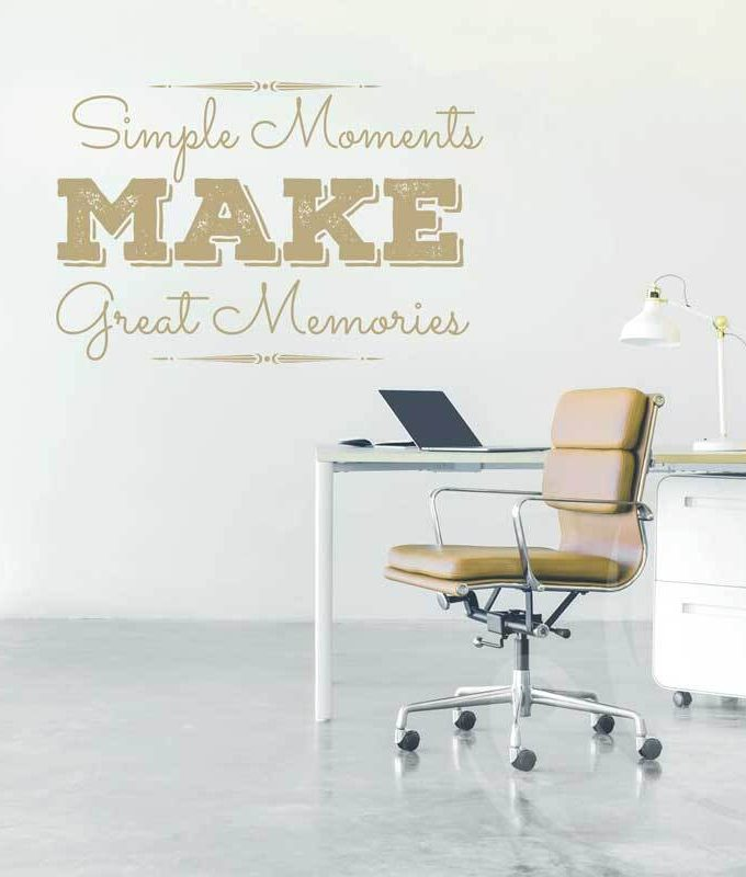 Great Memories Wall Decal