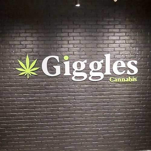 Giggles Wall Sign