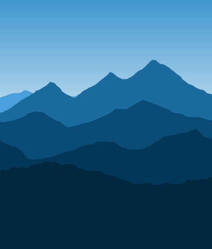 Mountain Landscape Wallpaper Pattern