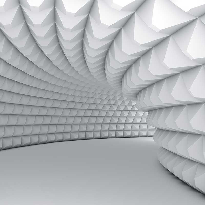 Pyramid Abstract Pattern