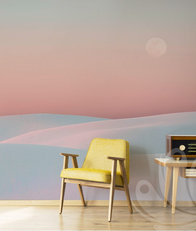 Rainbow Abstract Wallpaper Mural