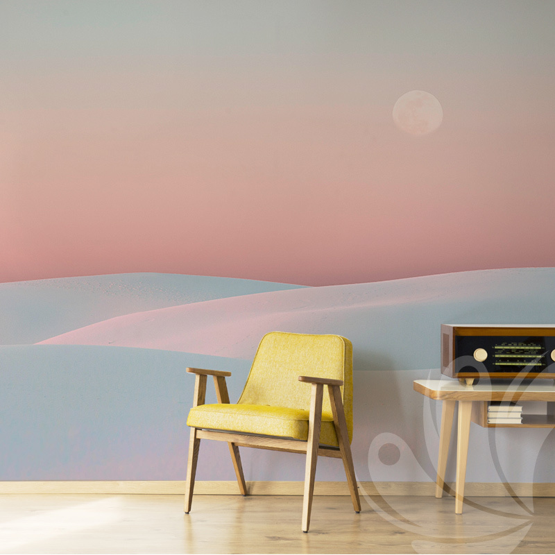 Rainbow Abstract Wallpaper Mural