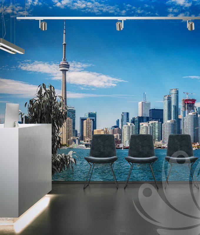 Toronto Skyline Wall Mural