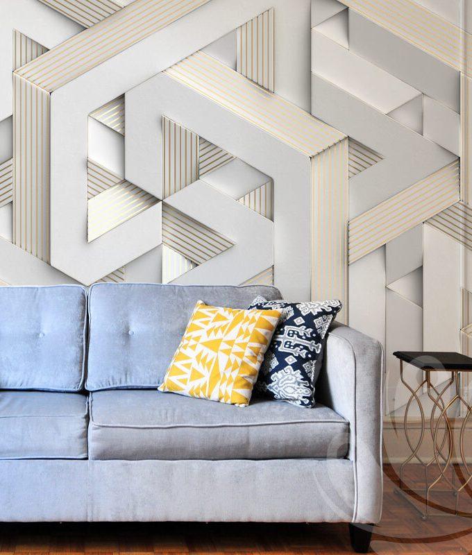 Classic Geometric Wallpaper