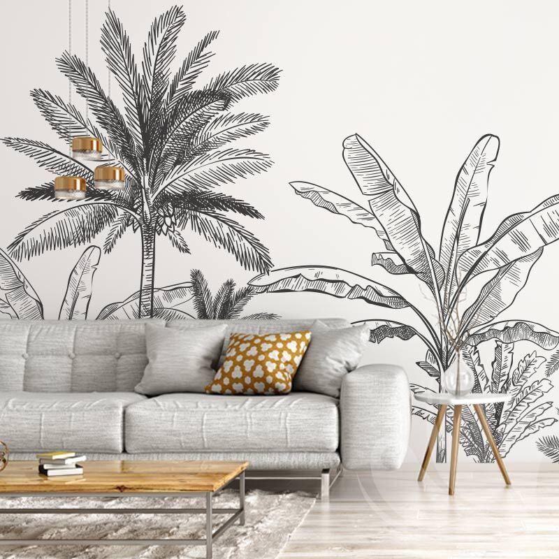 Tropical Palm Tree Wallpaper