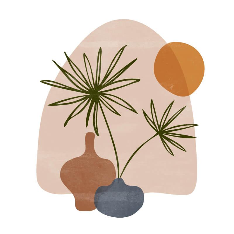 Plant Decor Decal