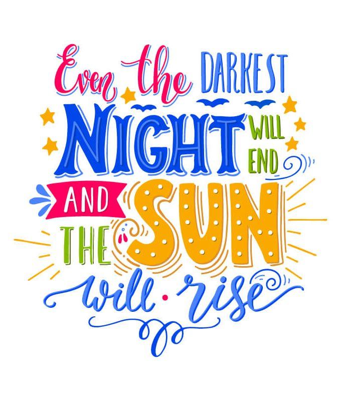 Sun Rise Decal