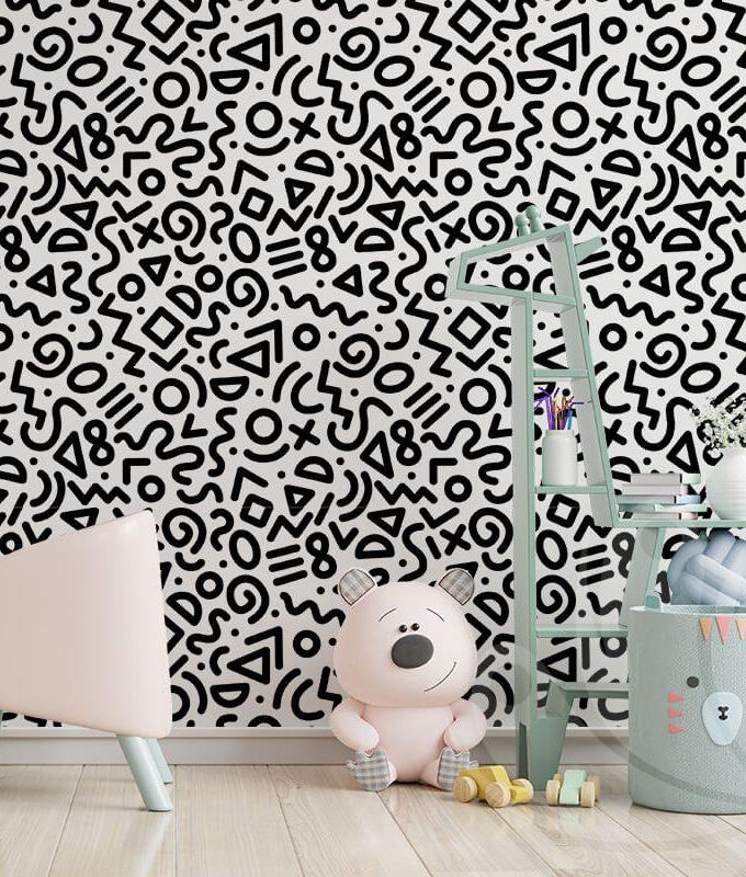 Doodle Wallpaper Pattern
