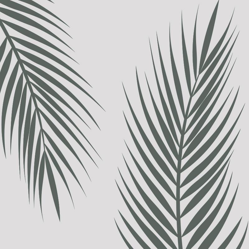 Palm Leaves Wallpaper Pattern