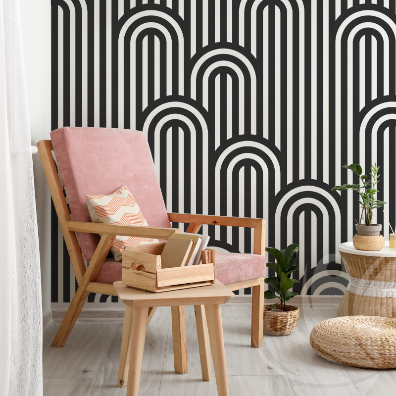 Striped Black Pattern