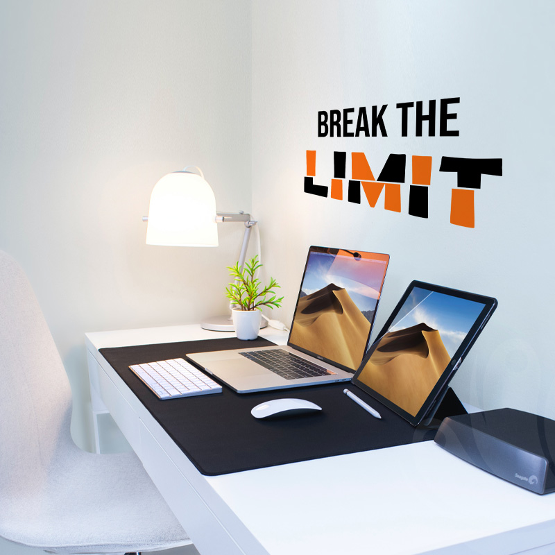 Break the Limit Wall Decal