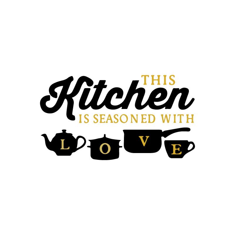 Kitchen Love Decal