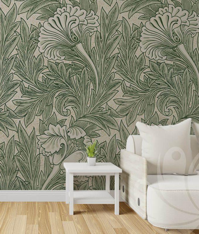 Morris Floral Wallpaper
