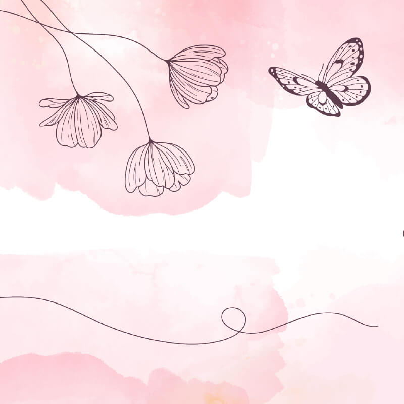 Soft Pastel Flower Pattern