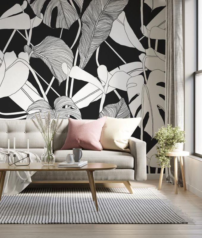 Tropical Exotic Plant Wallpaper