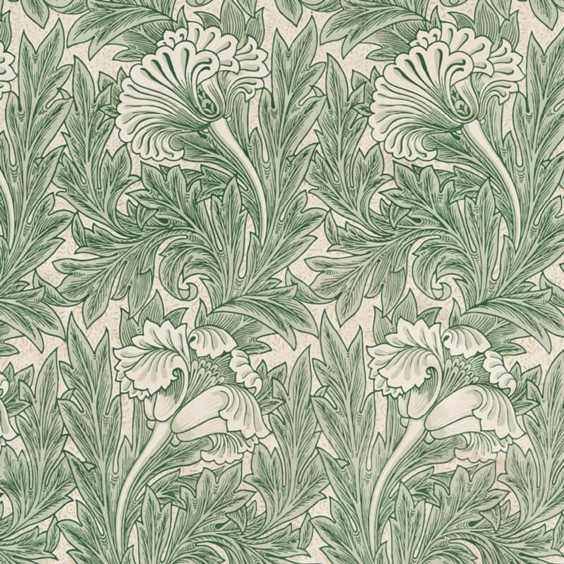 Morris Floral Wallpaper Pattern