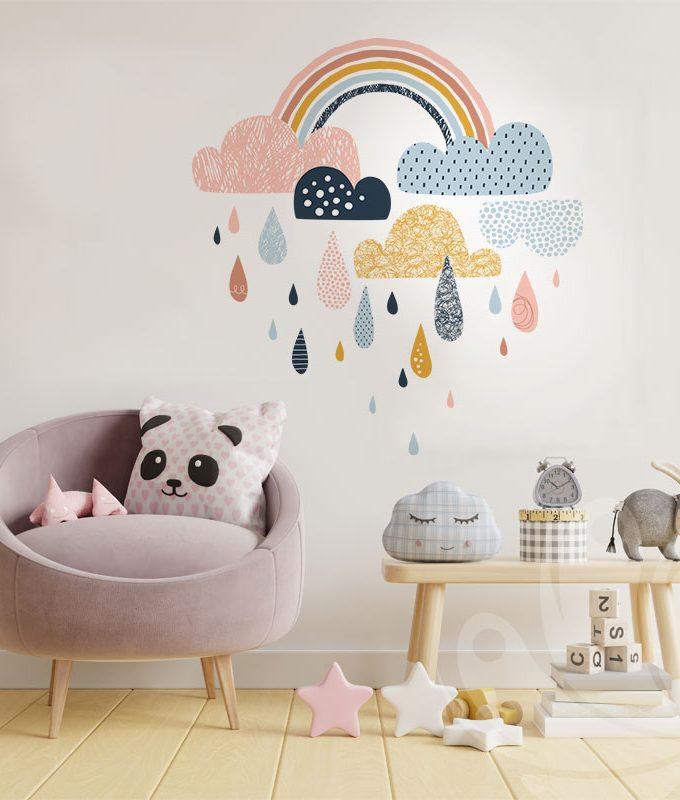 Kids Rainbow Wall Decal