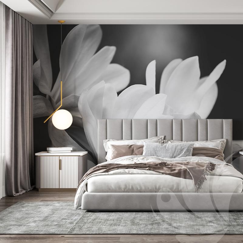 Magnolia Flowers Wall Mural