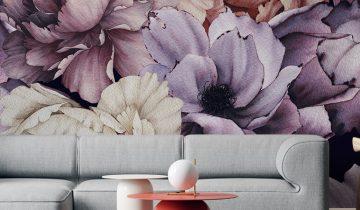 Luxury Decorium matching furniture with wall murals