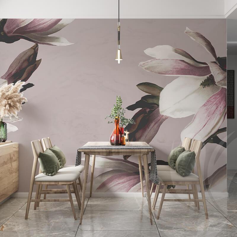Magnolia Floral Wall Mural