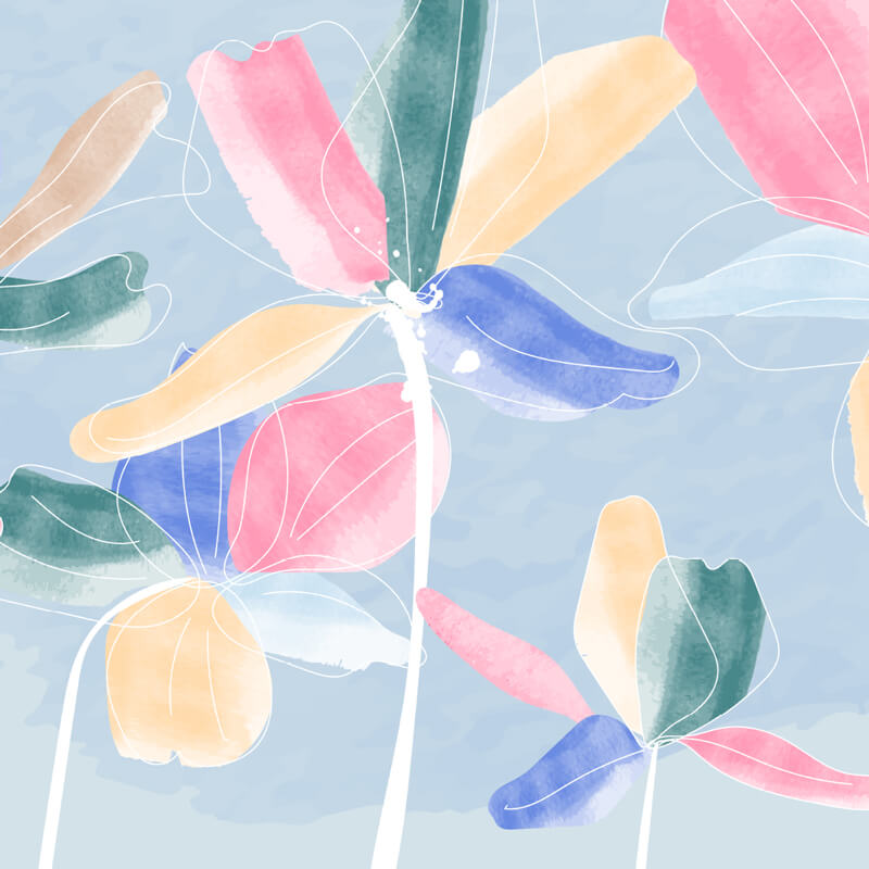 Flower Watercolor Wallpaper